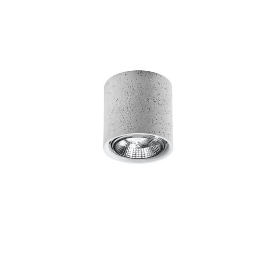 Plafon CULLO 140 beton Sufitowe | Plafony lampa betonowa