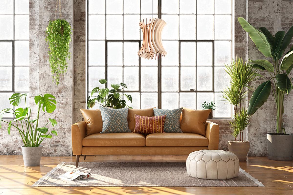 Oriana lampa drewniana