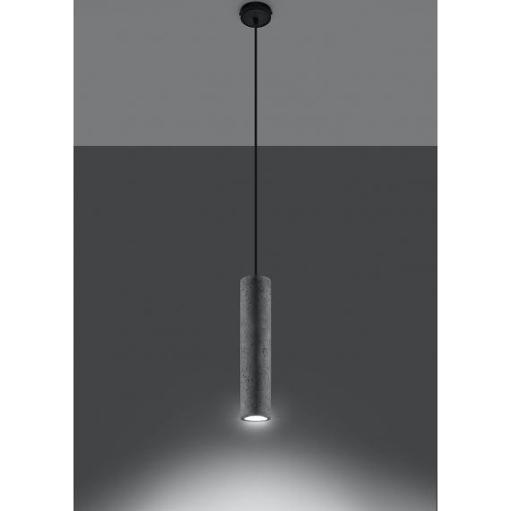 Betonowa lampa wisząca Luvo 1 02