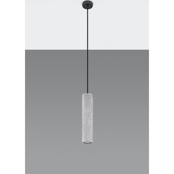 Betonowa lampa wisząca Luvo 1 03