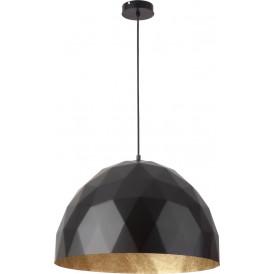 Lampa wisząca czarny złoty Diament