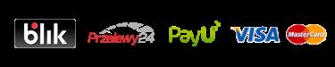 Dostępne metody płatności