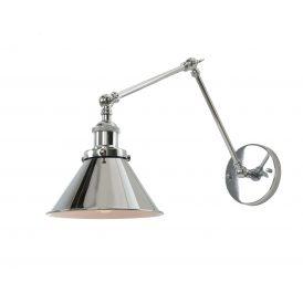 Kinkiet chromowany Gubi W2 Lampy ścienne | Kinkiety kinkiet chromowany