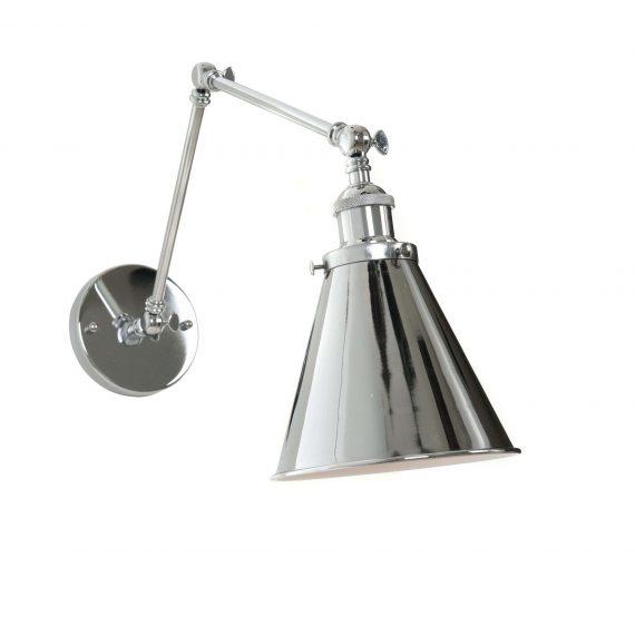 Kinkiet Rubi W2 chromowany Lampy ścienne | Kinkiety kinkiet do przedpokoju