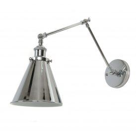 Kinkiet Rubi W2 chromowany Lampy ścienne   Kinkiety kinkiet do przedpokoju