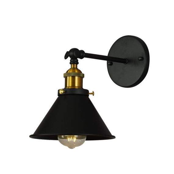 Kinkiet czarny Gubi W1 Lampy ścienne   Kinkiety kinkiet do salonu