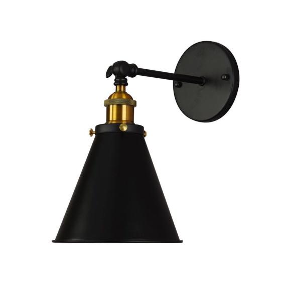 Kinkiet Rubi W1 czarny Lampy ścienne | Kinkiety kinkiet loftowy