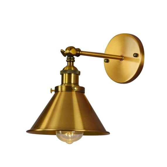 Kinkiet mosiężny Gubi W1 Lampy ścienne | Kinkiety kinkiet do salonu