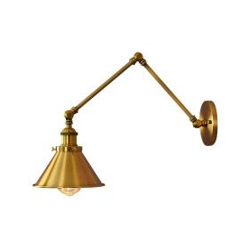 Kinkiet mosiężny Gubi W2 Lampy ścienne | Kinkiety kinkiet mosiężny