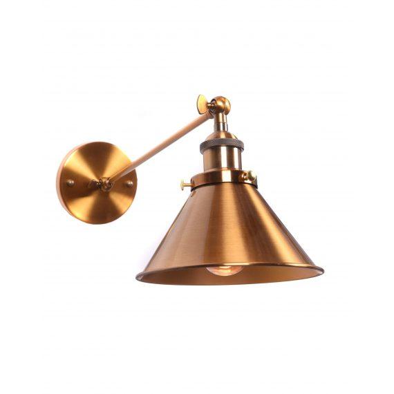 Kinkiet mosiężny Gubi WT Oświetlenie złoty kinkiet
