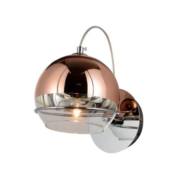 Kinkiet Veroni różowe złoto Lampy ścienne | Kinkiety kinkiet do sypialni