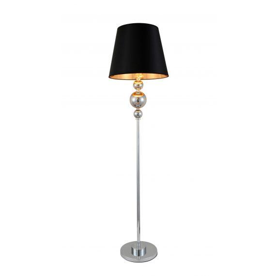 Lampa stojąca podłogowa Muranero czarna Oświetlenie