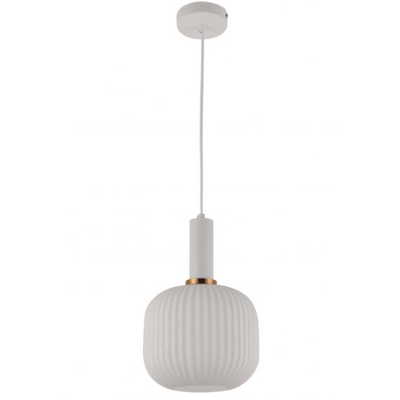 Lampa wisząca Gato biała Oświetlenie
