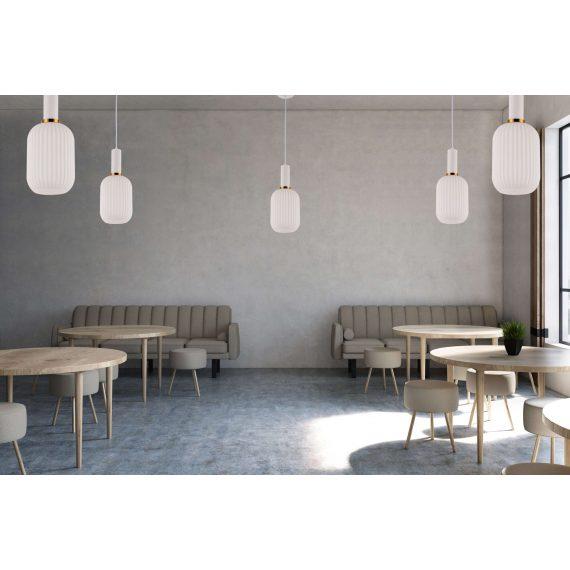 Lampa wisząca Rico biała Wiszące | Żyrandole biała lampa do salonu