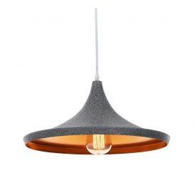 Lampa wisząca industrialna FOGGI 12C granit Oświetlenie