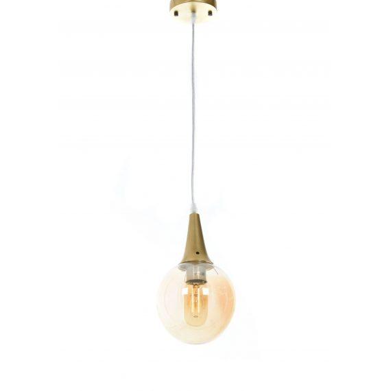 Lampa wisząca loft złota Rocherro Oświetlenie