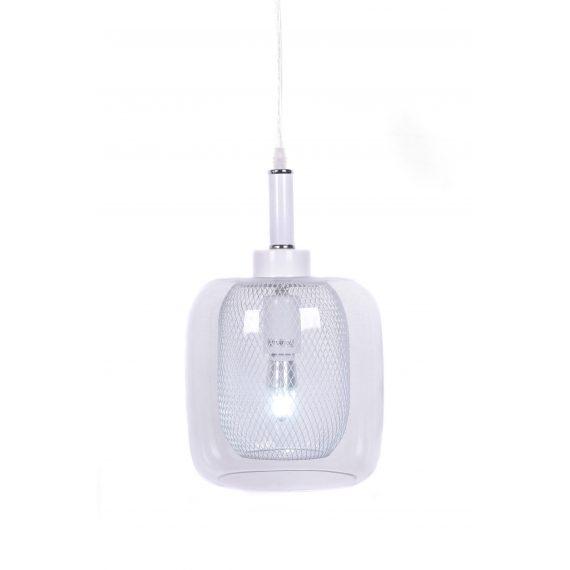 Lampa wisząca Bessa biała Wiszące | Żyrandole