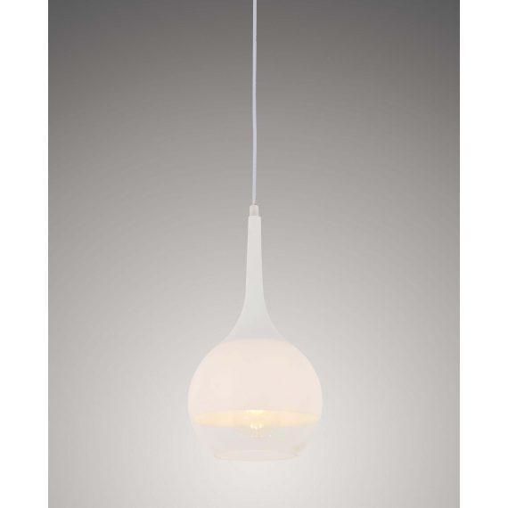 Lampa wisząca Frudo biała Oświetlenie lampa wisząca