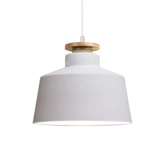 Lampa wisząca Levanti D30 biała Wiszące   Żyrandole komplet lamp do salonu