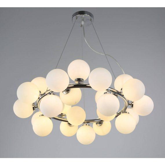 Lampa wisząca Marsiada W25 chromowana Oświetlenie lampa do salonu