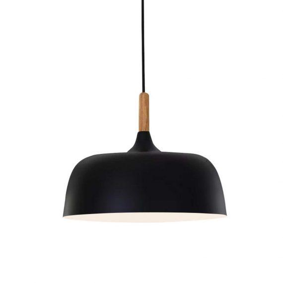 Lampa wisząca Bersi D32 czarna Wiszące   Żyrandole lampa do salonu