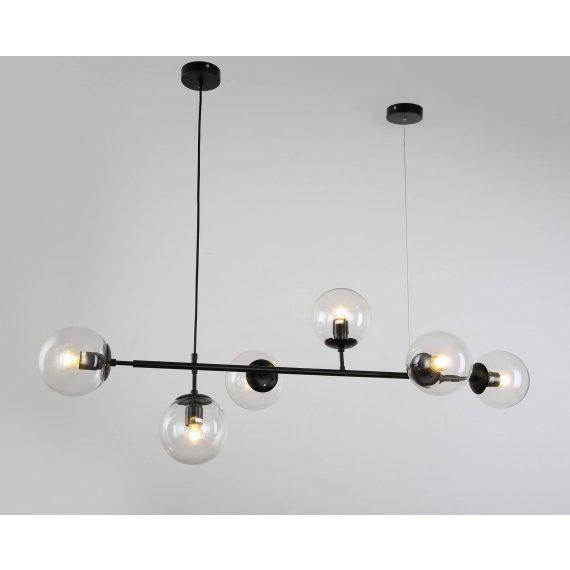 Lampa wisząca Ceredo W6 czarna Wiszące   Żyrandole lampa do jadalni