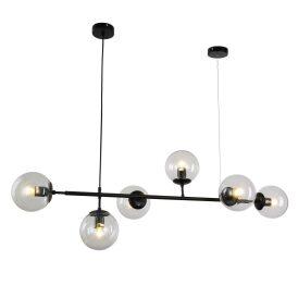 Lampa wisząca Ceredo W6 czarna Wiszące | Żyrandole lampa do jadalni