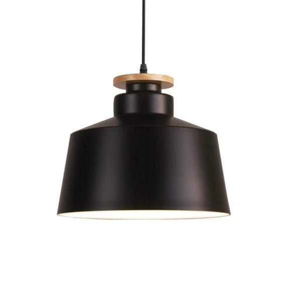 Lampa wisząca Levanti D30 czarna Oświetlenie lampa do salonu