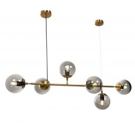 Lampa wisząca Ceredo W6 mosiężna Oświetlenie lampa do sadalni