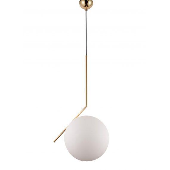 Lampa wisząca Sorento D30 moziężna Oświetlenie lampa do salonu