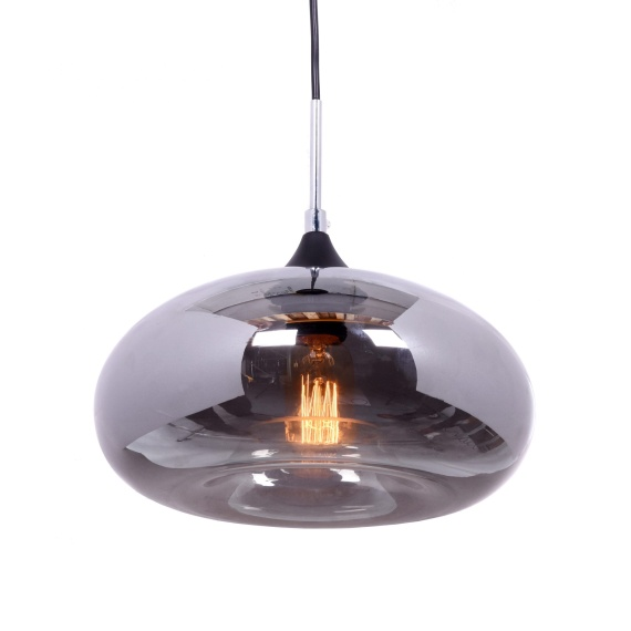 Lampa wisząca BROSSO D30 Szara Oświetlenie