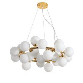Lampa wisząca Marsiada W25 złota Wiszące | Żyrandole