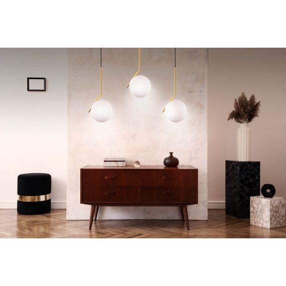 Lampa wisząca Sorento D30 złota Wiszące | Żyrandole lampa do jadalni