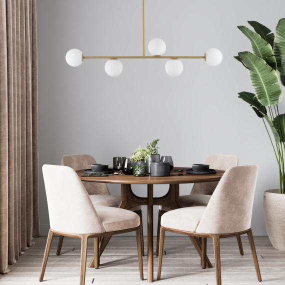 Lampa wisząca Gama 5 Wiszące | Żyrandole długa lampa nad stół