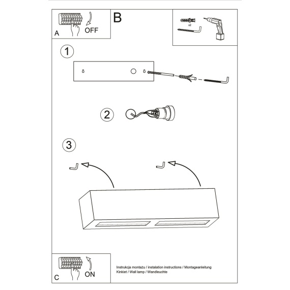 Kinkiet Ceramiczny VEGA Lampy ścienne | Kinkiety