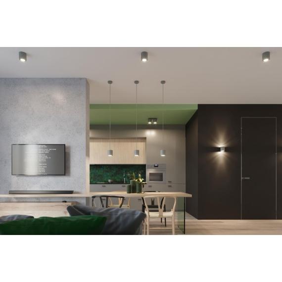 Plafon ORBIS 1 szary Sufitowe | Plafony downlight