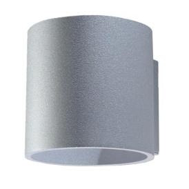 Kinkiet walec ORBIS 1 szary Lampy ścienne | Kinkiety kinkiet tuba