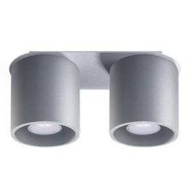 Plafon ORBIS 2 szary Sufitowe | Plafony downlight