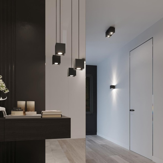Lampa sufitowa plafon Quad 2 Sufitowe   Plafony downlight