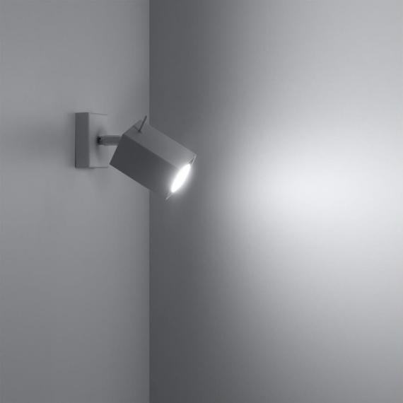 Regulowany kinkiet Merida Lampy ścienne | Kinkiety kwadratowy kinkiet