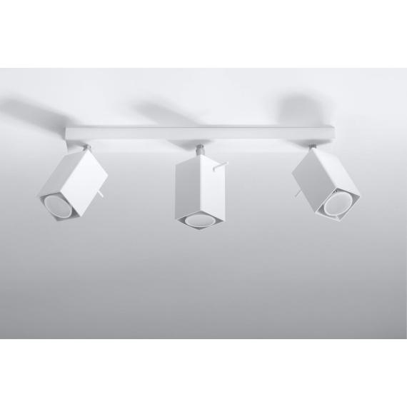 Regulowany plafon Merida 3 Sufitowe | Plafony lampa do salonu