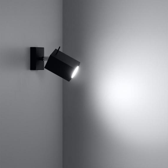 Regulowany kinkiet Merida Lampy ścienne   Kinkiety kwadratowy kinkiet