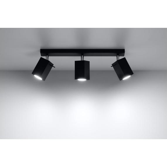 Regulowany plafon Merida 3 Sufitowe   Plafony lampa do salonu