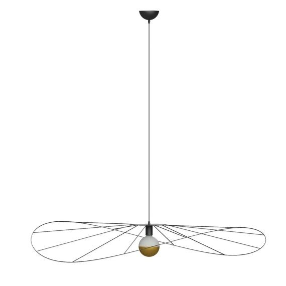 Lampa wisząca ESKOLA 110 CZARNA Oświetlenie LAMPY THORO