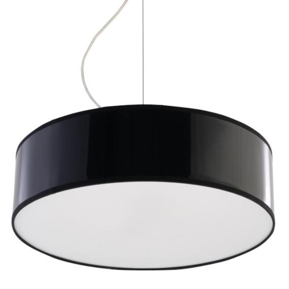 Lampa Wisząca ARENA 35 Czarna Jednopunktowe lampa do jadalni