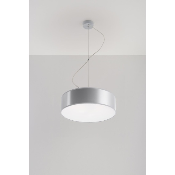 Lampa Wisząca ARENA 35 Szara Bez kategorii lampa do jadalni