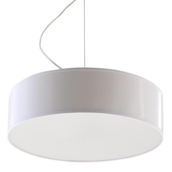 Lampa Wisząca ARENA 35 Biała Jednopunktowe lampa do jadalni