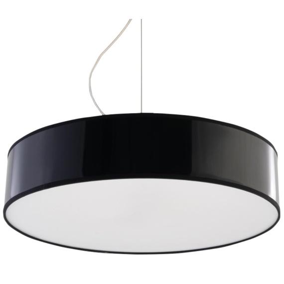 Lampa Wisząca ARENA 45 Czarna Jednopunktowe lampa do jadalni