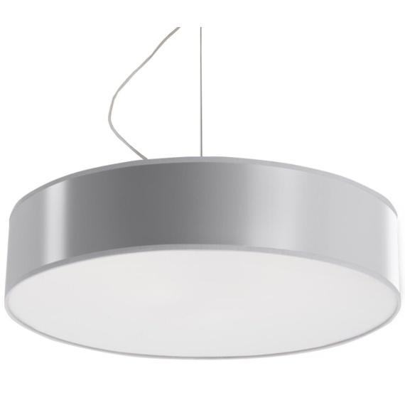 Lampa Wisząca ARENA 45 Szara Jednopunktowe lampa do jadalni