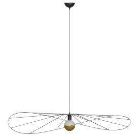 Lampa wisząca ESKOLA 140 CZARNA Oświetlenie LAMPY THORO